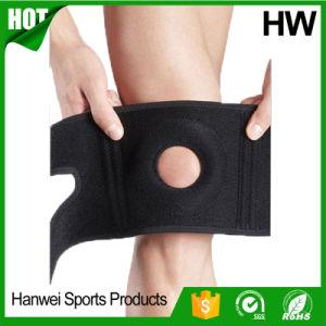 Orthopedic Basketball Climbing Neoprene Knee Brace (HW-KS024) pictures & photos