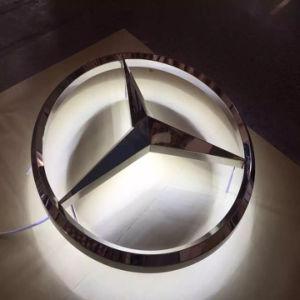 3D Car Logo Illuminated LED Car Logo pictures & photos