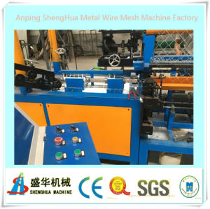 Anping Factorysemi-Automatic Chain Link Fence Machine pictures & photos