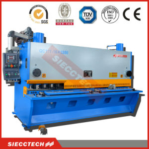 Metal Sheet / Plate CNC Hydraulic Guillotine Cutting / Shearing Machine Price pictures & photos