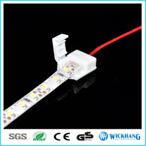 8mm 2 Pin Solderless Connector Cable for 3528 Single Color Waterproof LED Strip Light pictures & photos