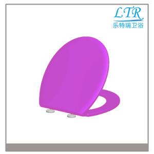 Purple Universal Automatic Sanitary Toilet Seat pictures & photos