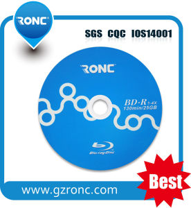 Good Quality Printable Bd-R Blu-Ray Disc 1X-6X 25GB pictures & photos