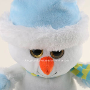 Christmas Gifts Plush Stuffed White Snowman Toys pictures & photos