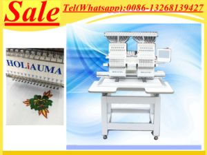 Full Automatic China Swf Similar Multi-Functions 2 Double Head Computer Embroidery Machine with Low Cost pictures & photos