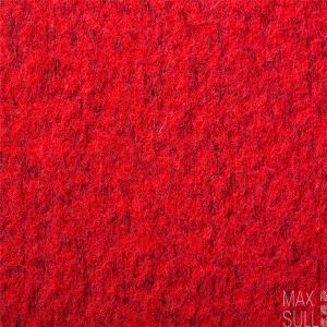 Wool /Polyester Fabric in Red Colour