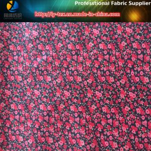 Black/Red Polyester Taffeta Printed Fabric for Jacket/Kid′s Garment pictures & photos
