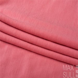 100% Machine Wash Wool Fabric for Nightdress in Light Red pictures & photos