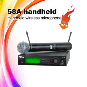 58A Handheld UHF Wireless Microphone System pictures & photos
