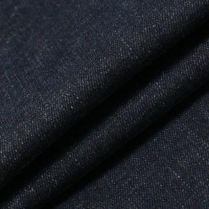 Novelty Black Cotton Viscose Spandex Denim Fabric pictures & photos