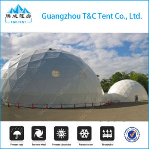 High Quality Metal Frame Fiberglass Dome House, Dome Geodesic Tent pictures & photos