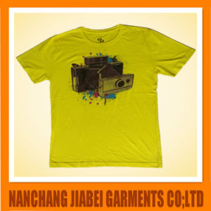 100% Combed Cotton Cheap Price Men′s Fashion T-Shirt with Printing