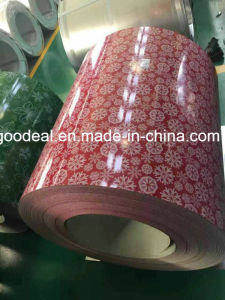 flower print Prepainted Steel Coils PPGI from shandong yehui factory pictures & photos