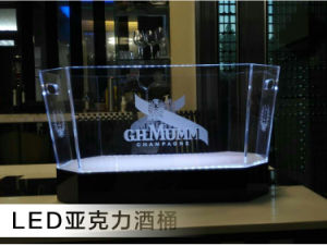 LED Lights Ice Bucket Promotional Gift Ice Bucket pictures & photos