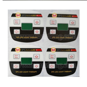 Custom PC Electrical Device 3m Adhesive Embossing Membrane Switch Panels pictures & photos