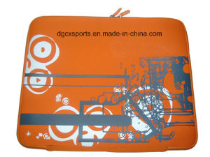 Screenprinting Neoprene Laptop Bag for Promotion pictures & photos