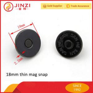18mm Magnetic Snap Button pictures & photos