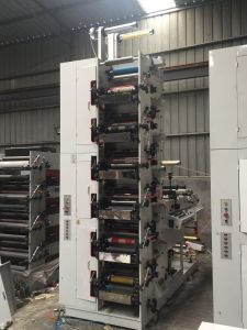 Flexographic Printing Machine with Foil Stamping pictures & photos