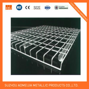 Collapsible Pallet Racking Accessories Decking Wire Mesh Decks for South Korea pictures & photos