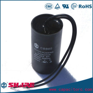 Cbb60 50Hz/60Hz Sh Washing Machine Refrigerator Film Capacitor pictures & photos