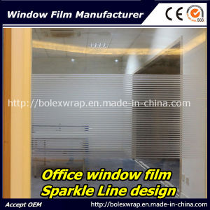 Sparkle Window Film Decorative Film Office Window Film 1.22m*50m pictures & photos