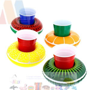 PVC or TPU Inflatable Floating Cup Holder pictures & photos