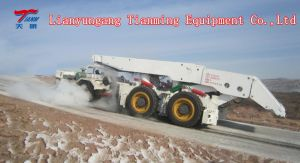 6 Wheel Drive Frame Mining Vehicle Hydraulic Shield Carrier pictures & photos