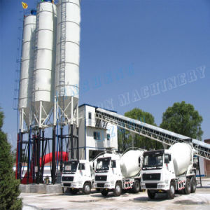 Concrete Batching Plant Hzs90 Stationary Ready Mixed Concrete Mixing Plant pictures & photos