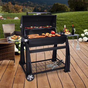Outdoor Lokki Charcoal BBQ Grill 42cm Made in China pictures & photos