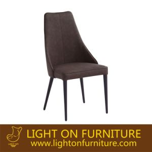 High Back Black Color Dining Room Chair in Shunde (C024) pictures & photos