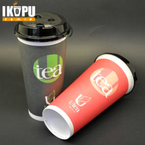 700ml Disposable Paper Cup with Lid for Hot Drinking pictures & photos