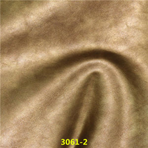 China Wholesale High Quality Pearl PU Imitation Leather for Shoes pictures & photos