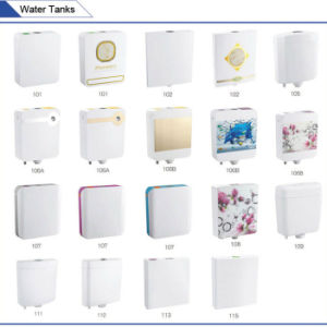 Jet-107 Dual Flush Super Thin Plastic Wall Mounted Water Tank pictures & photos