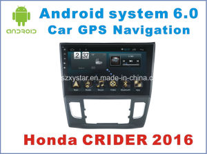 New Ui Android System Car Navigation for Crider 2016 with Car Video