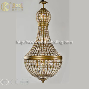 Modern Design Bronze Crystal Pendant Light pictures & photos