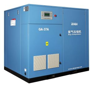 Industrial High Efficiency Air Cooling Air Compressor Rotary with 10 Bar 200 Cfm pictures & photos
