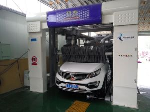 Fully Automatic Tunnel Car Washing Machine System Equipment Steam Machine for Cleaning Manufacture Factory Fast Washing 14 Brushes High Quality pictures & photos