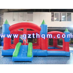 PVC Tarpaulin Adult Inflatable Bounce House/Quality 0.55mm PVC Inflatable Bouncer pictures & photos