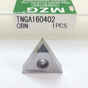 CBN Clip-Type Diamond Cemented Carbide Indexable Insert pictures & photos