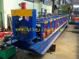 Kxd Galvanized Steel Construction Scaffolding Walk Board Making Machine pictures & photos
