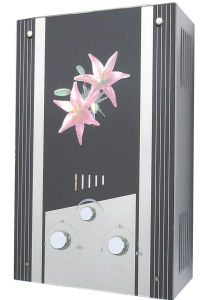 Instantaneous High Quality Gas Water Heater with Tempered Glass Panel