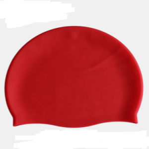 Cheap Custom Silicone Swim Cap with Logo pictures & photos