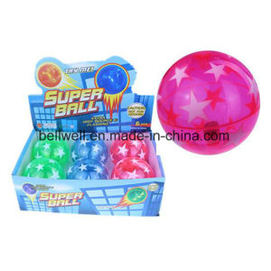 Colorful TPU Flashing Air Bouncing Ball for Kids pictures & photos