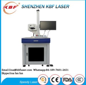 Cheap Table Shape CO2 R-F Tube Laser Marking Machine for Non-Metals pictures & photos