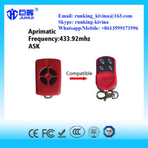 Compatible Aprimatic Remote Control Rolling Code 433.92MHz pictures & photos
