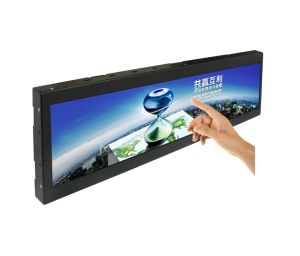 28 Inch Wall Mount Ultra Wide TFT Monitor, Stretched Bar LCD Touch Monitor/Displaytag pictures & photos