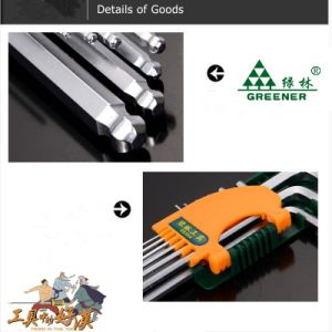 High Quality L-Style Hex Key Set pictures & photos