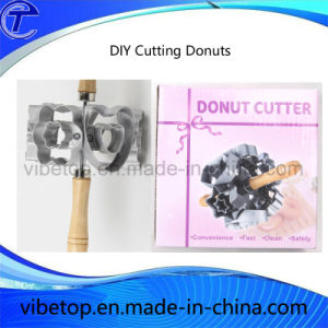 Export Europe High Quality Kitchen Tool Aluminum DIY Cutting Donuts pictures & photos