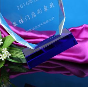Factory Price High Quality Custom Crystal Trophy for Souvenir pictures & photos