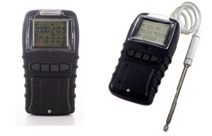 Audible and Visual Alarm Handheld Multi Gas Detector pictures & photos